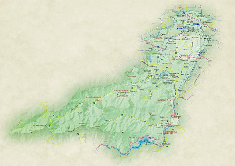 藤岡市 地図